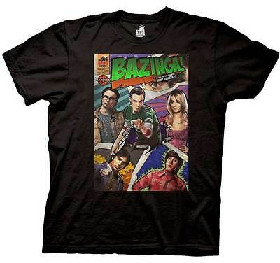 Big Bang Theory Choose Officially Licensed T-shirt Bazinga Sheldon Kitty S-3XL