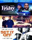Friday/Menace II Society/Set It Off (Blu-ray Disc, 2012, 3-Disc Set)