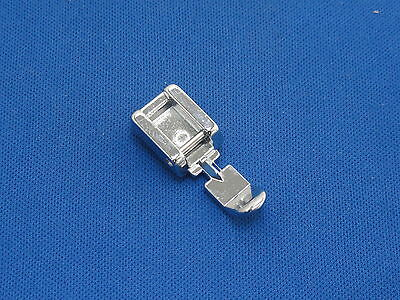 DOMESTIC SEWING MACHINE NARROW ZIP FOOT FITS TOYOTA, BROTHER NEW SINGER