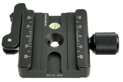 Sunwayfoto DLC-60 60mm Duo Lever Clamp  Adapter - Fully Arca Swiss Compatible