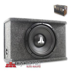 "JL AUDIO CS110-WXv2 Loaded Car 10"" Subwoofer BassWedge Box"