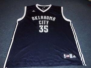 3ef77f0b680d ADIDAS NBA OKLAHOMA CITY THUNDER KEVIN DURANT WORLD REPLICA JERSEY ...