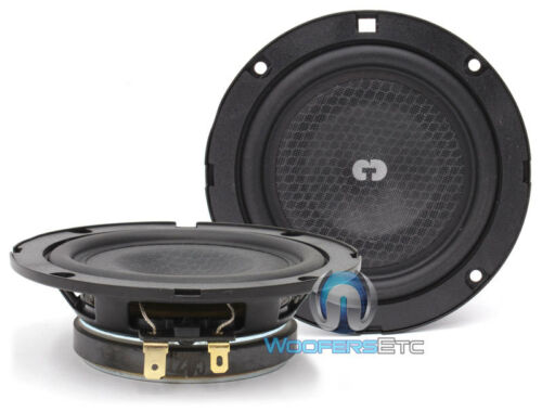 "OPEN BOX CL-4SL CDT AUDIO 4"" MIDRANGE SUPER SLIM CAR SPEAKERS MIDS CL4SL"