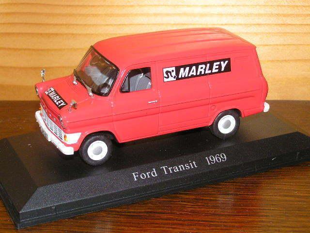 FORD TRANSIT  MARLEY  1 43 NOREV