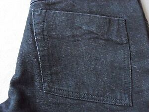 DIESEL-STYLE-LAB-WOMENS-JAILHOUSE-BLACK-DENIM-JEANS-SIZE-30-NEW-MADE-IN-ITALY