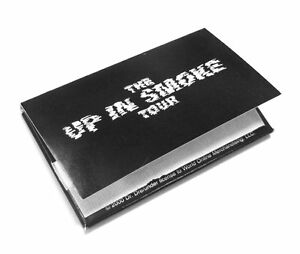 """""""UP IN SMOKE"""" TOUR MARIJUANA COLLECTIBLE ROLLING PAPERS NEW OFFICIAL DRE EMINEM"""