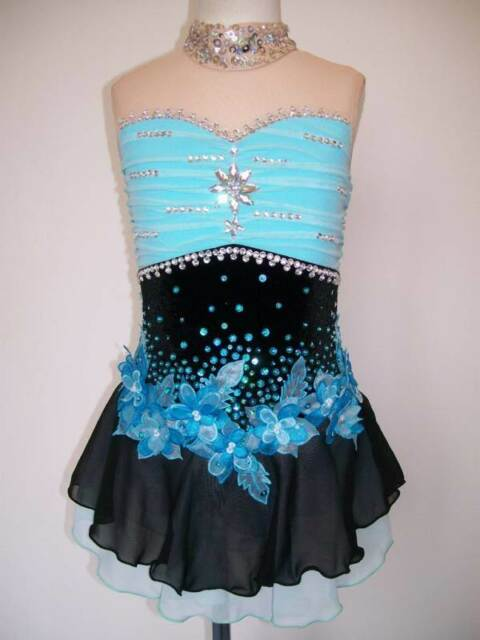 Made to Fit Ice Figure Skating dress/Twirling Leotard/Tap outfit/Dance costume