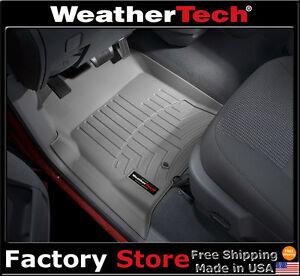 WeatherTech-Floor-Mat-FloorLiner-Dodge-Ram-Truck-Quad-Cab-2002-2008-Grey