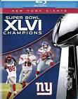 NFL: Super Bowl XLVI (Blu-ray Disc, 2012)