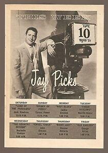 1961-WJAR-tv-ad-Jays-Picks-Jay-Kroll-Movies-in-Providence-Rhode-Island