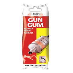 Holts-Gun-Gum-Exhaust-Silencer-Repair-Bandage-Foil-Heat-Shield-Wire-Kit