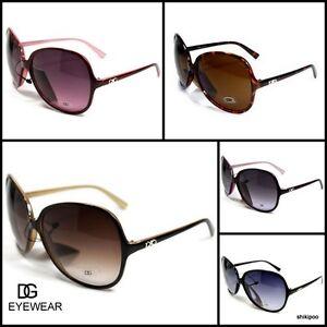 New-DG-Eyewear-Retro-Vintage-Shades-Oversized-Womens-Designer-Sunglasses