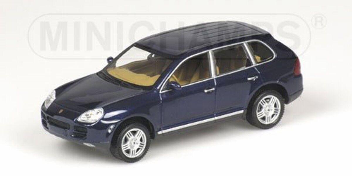 Minichamps 1 43  400061000 Porsche Cayenne S (2002), bluemetallic