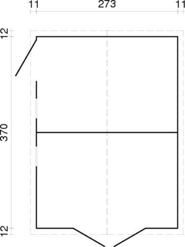 gartenhaus dan 3 christa 4 blockhaus ger teschuppen. Black Bedroom Furniture Sets. Home Design Ideas