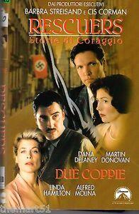 Rescuers-Storie-di-Coraggio-DUE-COPPIE-1998-VHS-CIC-UNICA-in-eBay