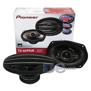 PIONEER-TS-A6994R-6x9-034-5-WAY-CAR-AUDIO-SPEAKERS-PAIR