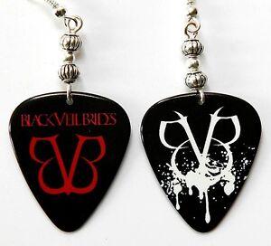 Black-Veil-Brides-Guitar-Pick-Earrings-Two-Sided
