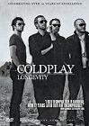 Coldplay - Longevity (DVD, 2012)