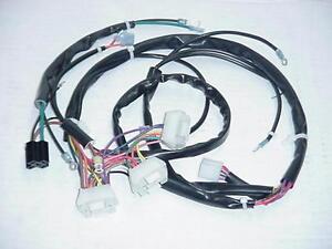 1990 ford wiring harness 1990 fxr wiring harness new 1989-1990 fxst main wiring harness harley-davidson | ebay