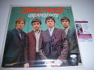 IAN-MCLAGAN-SMALL-FACES-GREATEST-HITS-JSA-COA-SIGNED-LP-RECORD-ALBUM