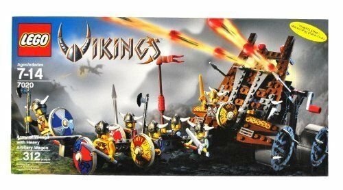 Lego Vikings 7020 Army of Vikings with Heavy Artillery Wagon NEW Sealed