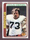 1978 Topps Doug Dieken #413 Football Card