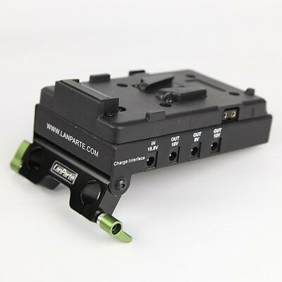 Lanparte V-Lock Battery Pinch, Power Distributor & HDMI Splitter for DSLR RIG