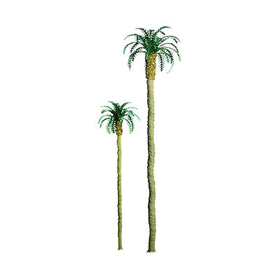 "JTT SCENERY 94234 PROFESSIONAL SERIES 1"" PALM TREES    6/PK  Z-SCALE  JTT94234"