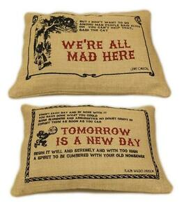 JUTE-CUSHION-COVER-COTTON-14-034-x-10-034-Quotes-To-Inspire-Ideal-Birthday-Gift