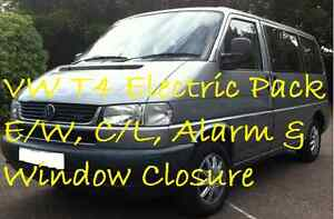 For-VW-T4-Transporter-Electric-Window-amp-Central-Locking-Kit-Alarm-Twin-Rear-NEW
