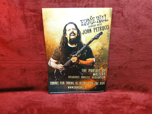 "Dream Theater ""John Petrucci"" Ernie Ball Poster<<>>BIGGER SIZE"