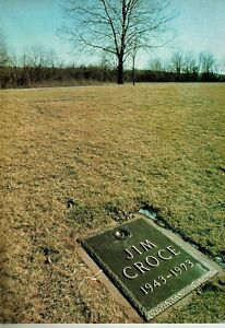 JIM-CROCE-GRAVE-SIGHT-PINUP-PRINT-AD-Tombstone-Picture-Cemetary-Death-1943-1973