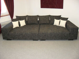 big sofa schlaf couch big couch schlafsofa bett 260cm ebay. Black Bedroom Furniture Sets. Home Design Ideas