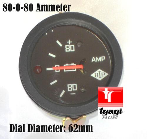 Ampere di intensità Metro Ampere METER GAUGE BATTERIA sono METRO varie opzioni tipo di illuminazione