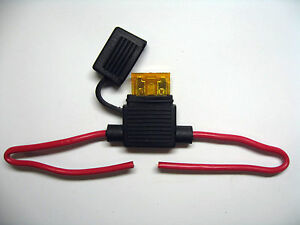 In-Line-standard-waterproof-Blade-Fuse-Holder-fuses-5a-5amp-kit-car-boat-bike