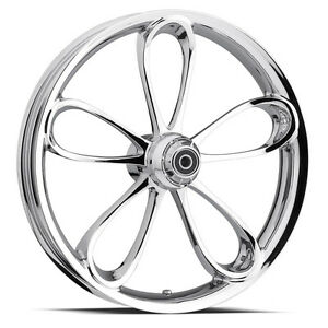 CUSTOM-3-DIMENSIONAL-WHEEL-30-034-FRONT-CHROME-3D-RIM-FOR-HARLEY