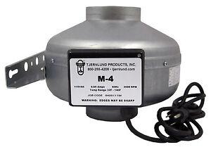 4-034-Inch-200-CFM-Inline-Fan-Duct-Booster-Exhaust-Vent-Blower-Hydroponic-Radon-M-4