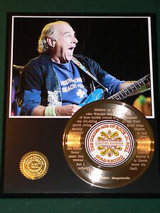 Jimmy-Buffett-Laser-Etched-Lyrics-Margaritaville-24k-Gold-Record-US-Ships-Free
