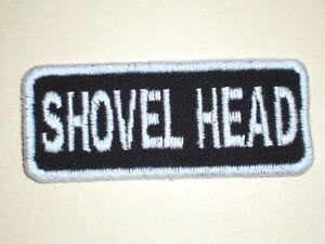 SHOVEL HEAD  Biker Vest Patch