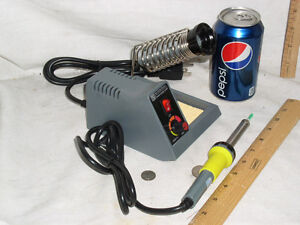 NEW-ELECTRONIC-SOLDERING-IRON-STATION-50W-58W-FREE-SHIPPING-XTRA-TIP-SOLDER-USA