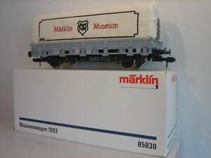 Marklin-85830-Traccia-1-Vagone-Merci-Vagone-Da-Museo-1993-Confezione-Originale