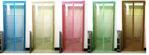 Anti-Mosquito-Magnetic-Door-Curtain-Fly-Screen-Net-5-kinds-of-color-options