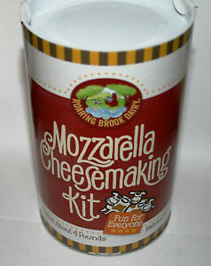 Roaring Brook Dairy Mozzarella Cheesemaking Kit Makes over 4 pounds Cheese kit