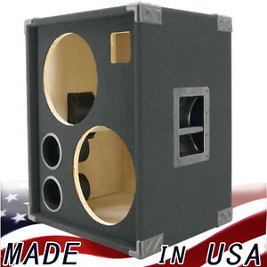 2X12 with Tweeter Empty Bass Guitar Speaker Cabinet Black Carpet ...