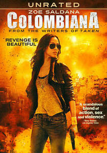 COLOMBIANA - WIDESCREEN UNRATED EDITION - SHIPS 1st CLASS NEXT DAY