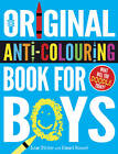 The Original Anti-Colouring Book for Boys by Susan Striker (Paperback, 2013)