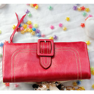 New-Genuine-leather-Card-Coin-Long-Purse-DECKAS-Lady-womens-Clutch-Wallet-Gift