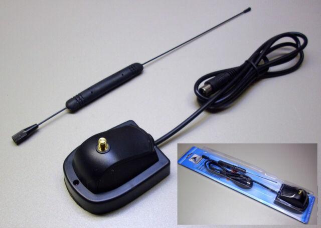 DVB-T Stabantenne / Zimmerantenne DVB-500 / 20dB Verstärker UHF/ VHF