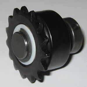 One way needle roller bearing w sprocket anti reverse for Freewheel sprocket for electric motor