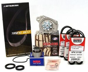 GMB-Water-Pump-Timing-Belt-Master-Kit-Honda-Civic-Del-Sol-1-6L-w-D16B-D16Y